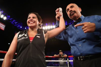 Marlen Esparza Passes her Debut Test with Unanimous Decision Victory