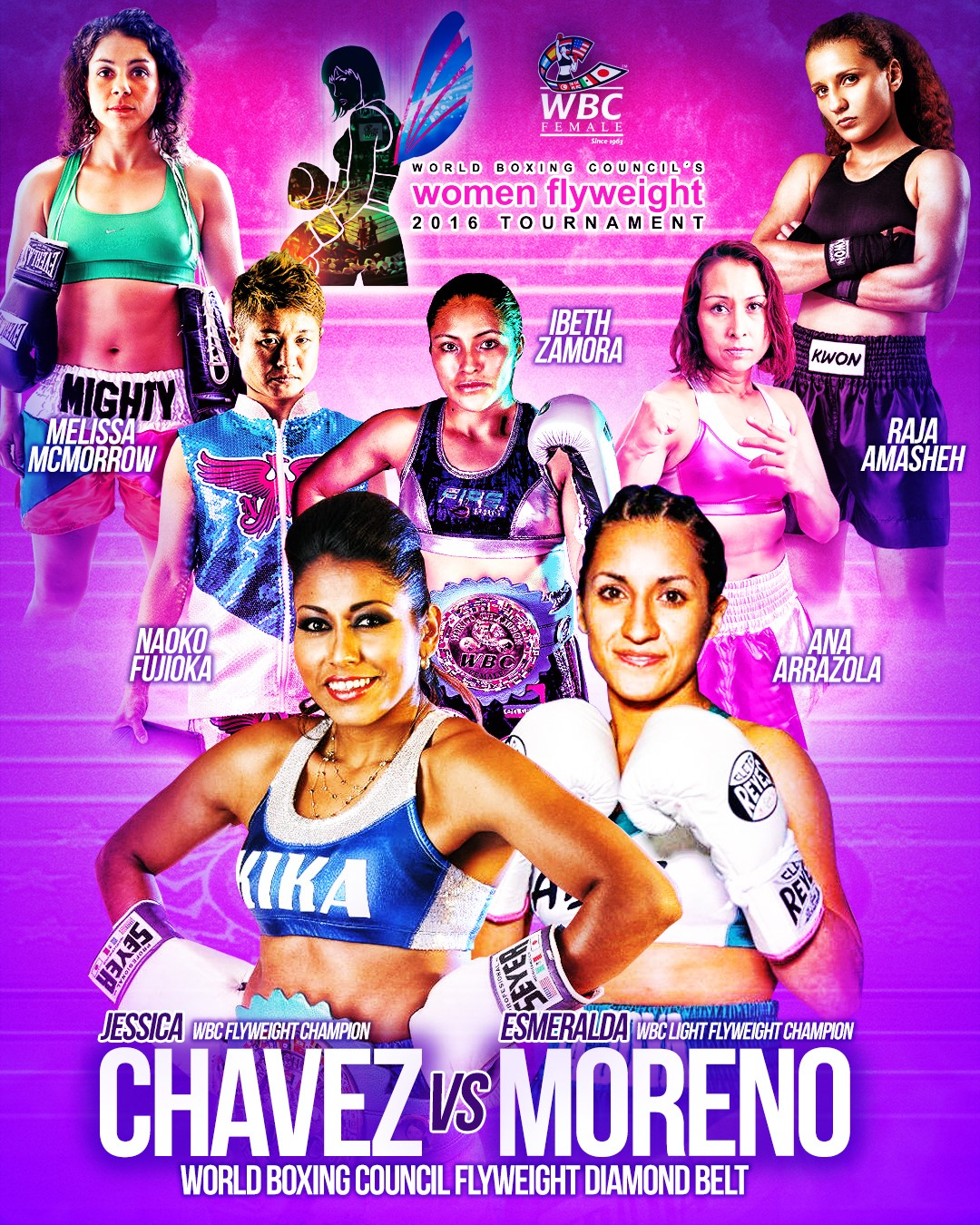 Chavez vs. Moreno WBC Diamond Belt Championship to Contribute to Mexico Earthquake Relief
