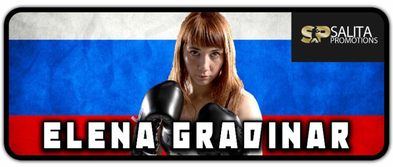 Elena Gradinar Looking to Extend her Unbeaten Streak; to Face Karina Kopinska on Saturday